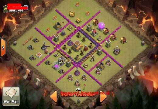 Base War TH 8 Terkuat dan Terbaik