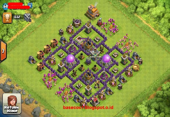 Base Coc Th 7 Terbaru 8
